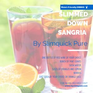 Slimmed Down Sangria