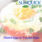 Weight Loss Recipes For Women: Baked Eggs In Tomato Cups