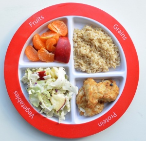 Fish-Sticks-on-MyPlate-kids