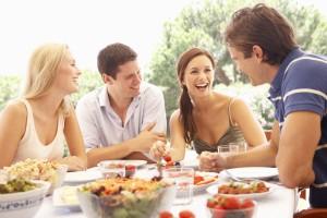couples having lunch medium