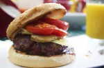 Flame-Grilled Low-Fat Beef Burgers