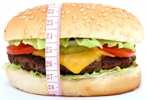 burger measuring tape