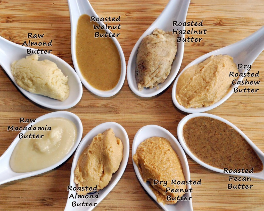 Variety of Nut Butter