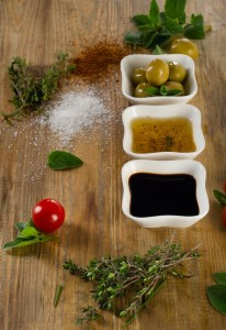 dressings with fixings medium