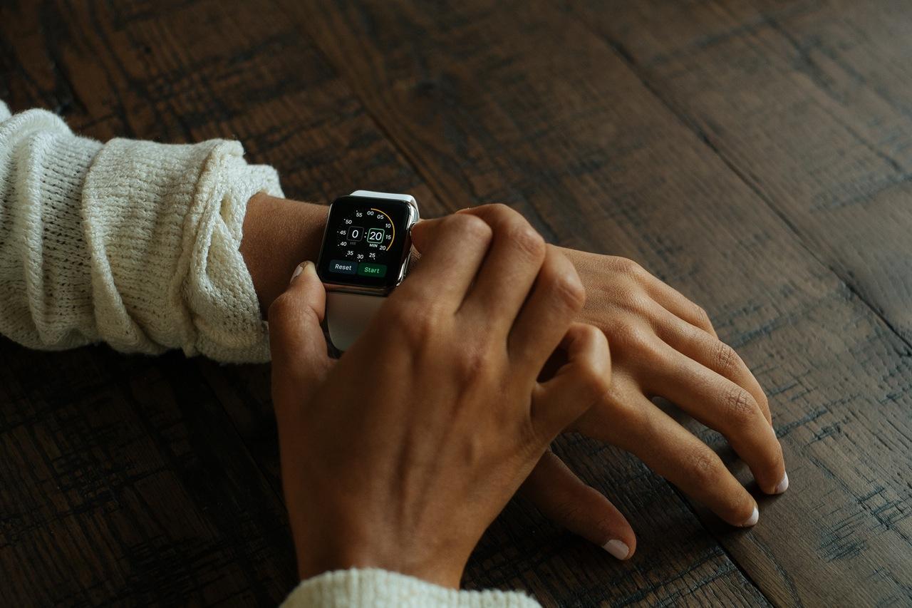 Apple stopwatch